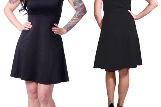 dress Delilah lace black steady rockabilly psychobilly retro vintage 50s pinup gothic goth morticia g