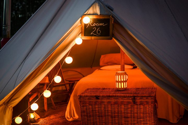 Hotel Tents Beyond the Valley festival
