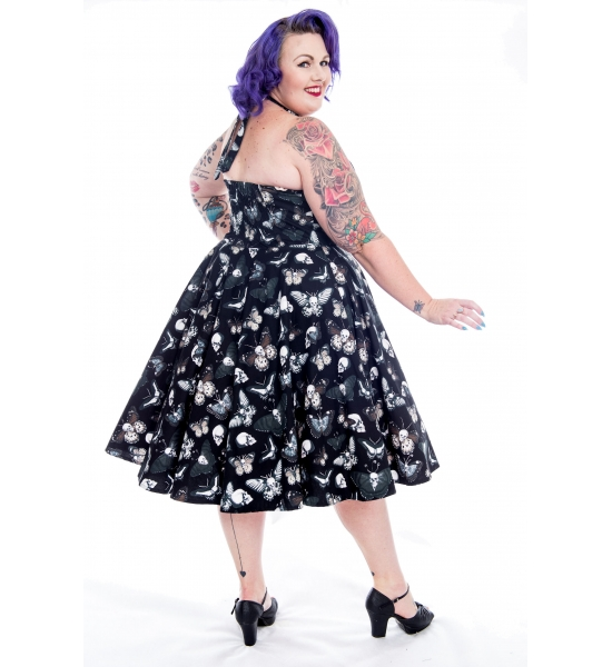 Death Moth ~ Butterfly Skull Swing Dress