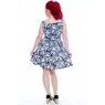 Midsummer's Nightmare ~ Skull Skater Dress