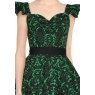 Psychobilly Poison Ivy Tea Dress